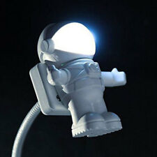Creative Energy Saving Astronaut Spaceman USB LED Adjustable Night Light Laptop