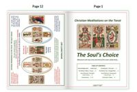 """Christian Meditations on the Tarot: The Soul's Choice"" Transformational Booklet"