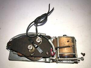 Lionel tender whistle motor