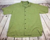 Tommy Bahama Men's Silk Hawaiian Shirt Size Large
