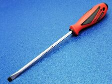 "NEW MATCO SPR128CA 8"" COMMON SCREWDRIVER 3/8 X 8"" RED - SHIPS FREE TOOL LOT"
