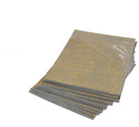 4 X LINO BLOCK PRINTING BOARD HESSIAN BACKED TILE 200mm x 150mm 3.2mm THICK