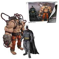 Batman Arkham City Bane vs. Batman Action Figure 2-Pack By  DC Collectibles(NEW)
