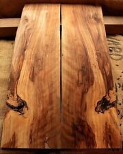 """.32"""" curly figured spalted sweet gum wood lumber guitar bass tonewood maple 493"""