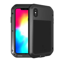 LOVE MEI for iPhone XS Max 6.5 inch Shockproof Dust-proof Defender Case Cover