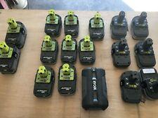 RYOBI ONE+ 18V 1.5AH 4.0Ah & 5.0Ah 2.6AH 36V cases only all screws and clips
