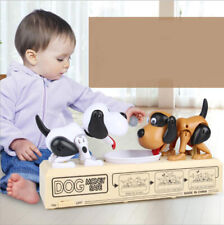 Double Dog Fight Piggy Bank Electronic Automatic Save Coin Money Box Child Toy