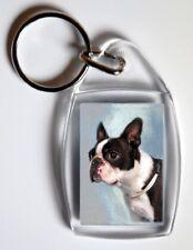 Boston Terrier Key Ring By Starprint - No 1