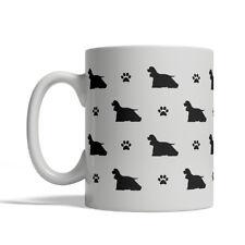 American Cocker Spaniel Dog Silhouettes Coffee Mug, Tea Cup 11 oz ceramic