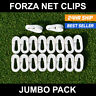FORZA Football Net Clips - Please Select Quantity! [Net World Sports] Goal Ties