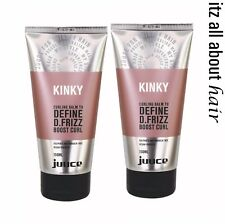 Juuce Kinky Curling Balm 150ml x 2 Duo Pack Define D.Frizz Boost Curl