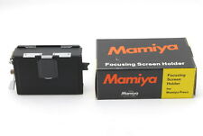 【UNUSED BOXED】Mamiya Focusing Screen Holder Pint Glass for Press Universal JAPAN