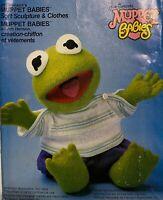 Vogue 8966 Muppet Baby KERMIT The Frog + Shirt PJs Pants Diapers Pattern UNCUT!
