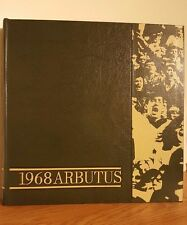 1968 Arbutus University of Indiana Yearbook Annual from Bloomington, Indiana