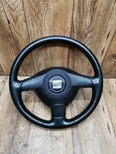 Seat Leon 1M Cupra Leder Lenkrad 3 Speichen Lenkrad #5169
