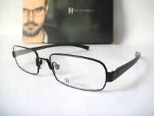 250e20d000e Freudenhaus Titanium Medium 53-17 140 Quentin Black Eyeglass Frame Specs  mens