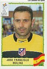 N°209 JOSE FRANCISCO MOLINA ESPANA SPAIN PANINI EURO 2000 STICKER VIGNETTE