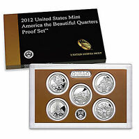 2012 S America the Beautiful National Parks Mint Clad Proof Set ~ In Box/COA