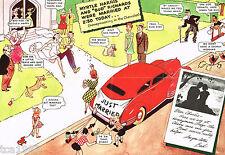 1939?Chevrolet PROTOTYPE?SAMPLE Service Mailer Brochure
