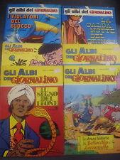 GLI ALBI DEL GIORNALINO 1/2 + 1/12 - SERIE COMPLETA SAN PAOLO 1972 - RARA!!!