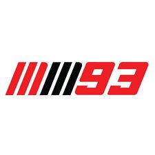 MARC MARQUEZ #93 Logo Repsol Honda Team - MotoGP sticker CHAMPION