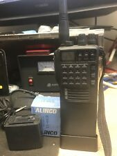Alinco brand DJ-180T Handheld Transceiver Radio w/battery and charger stand