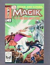 LOT B OF 5 COPIES MAGIK ILLYANA AND STORM LIMITED SERIES #1 NM 9.4 1983 MARVEL