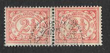 Dutch East Indies pair - 2 x 2 1/2c - see scan