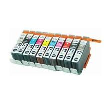 10 Combo Pack Ink Cartridges for Canon PGI-72 PGI72 PGI 72 PIXMA PRO-10 PRO-10S