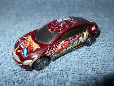 "2002 MAISTO MARVEL 2000 BUICK LACROSSE 3"" SPIDER-MAN MOBILE 1:64 DIECAST CAR"
