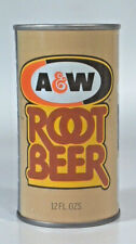 Vintage A&W Root Beer Soda Pop Can 12oz Straight Steel JFW Minneapolis MN