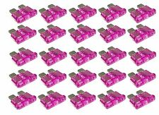 Blue Sea ATC 3 AMP Blade Fuses, 25 Pack. Standard circuit protection device f...