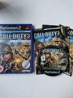 Call of Duty 3 Special Edition with Poster (Sony PlayStation 2, 2006) ps2