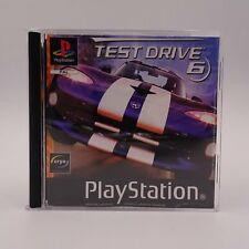 Test Drive 6 Sony Playstation 1 PS1 PAL Spiel Game The Ultimate Thrill Ride