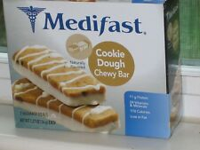 7 BARS MEDIFAST COOKIE DOUGH CHEWY BAR ~ YUM!  7 MEALS