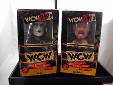 GOLDBERG & STING WCW 1998 Bobblehead NIB Big Boys Collectible Wrestling