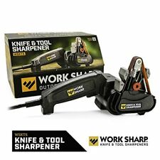 Work Sharp Knife & Tool Sharpener - Fast, Easy, Repeatable, Consistent Resul