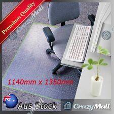 Carpet Floor Office Chair Mat Vinyl PVC 1350 x 1140mm