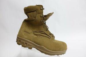 BATES Terra X3 Tan Sz 13 EW Extra Wide Men Suede Military Boots
