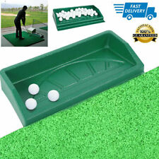 High Quality Golf Driving Ball Tray Large Capacity Hold 100 Golf Balls Green