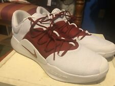 Nike Hyperdunk X Low TB Size 16.5 Maroon White Basketball Shoes Zoom  AT3867-109