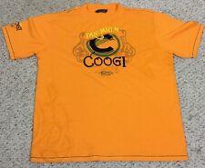 Coogi Graphic T Shirt Premium Colors Since 1969 Size 3XL Orange