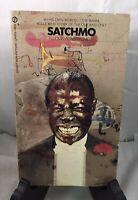 SATCHIMO - Louis Armstrong Rare Autobiography 1ST PRINTING 1955