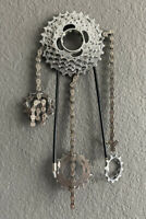 Campagnolo Cassette Shimano Bicycle Bike Chain Custom Made Wall Art Sculpture