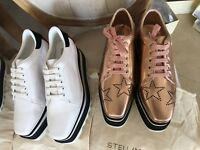 Authentic Stella McCartney Elyse Sneaker& Open-Back Sneaker US5-39 Made in Italy