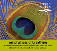 Mindfulness of Breathing: by Vidyamala Burch & Sona Fricker - 2CD Audiobook