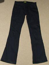 DRAGGIN Motorcycle Jeans Ladies 10 Black Stretch