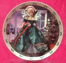 Enesco Barbie Collector Plate Happy Holidays Barbie 1995 Limited Edition #848