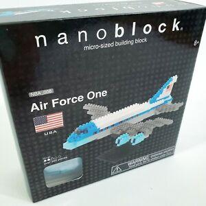 Air Force 1 One Building Nanoblock Miniature Building Blocks New Sealed Box