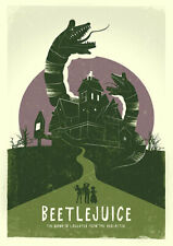 BEETLEJUICE 1988 POSTER, A3 POSTER